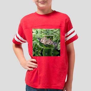 painted-lady-clock Youth Football Shirt