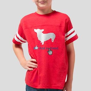 Pembroke-Welsh-Corgi14 Youth Football Shirt