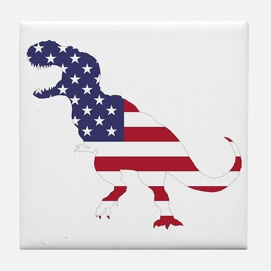 Tyrannosaurus (United States) Tile Coaster