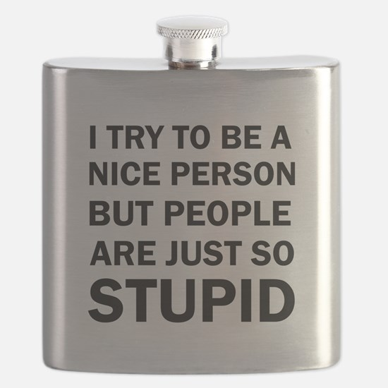 PEOPLE ARE JUST SO STUPID Flask