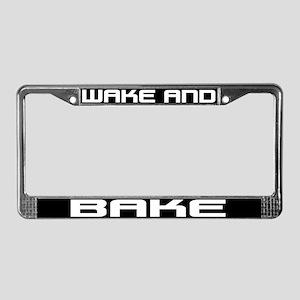 Wake and Bake License Plate Frame
