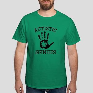 Autistic Genius Dark T-Shirt