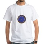Point within a circle White T-Shirt