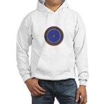 Point within a circle Hooded Sweatshirt