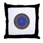 Point within a circle Throw Pillow