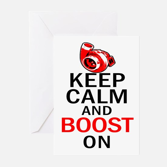 Turbo Boost - Keep Calm Greeting Cards (Pk of 20)