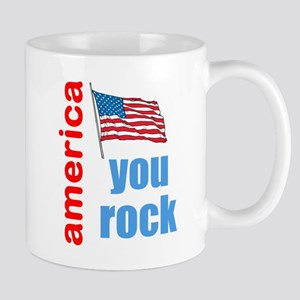 america you rock Mug