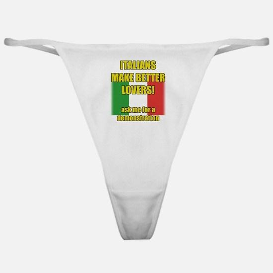 Italian better lover Classic Thong
