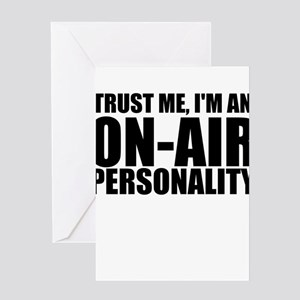 Trust Me, I'm An On-Air Personality Greeting C