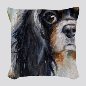 Who Me? Woven Throw Pillow