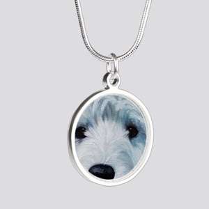Sweetness Silver Round Necklace