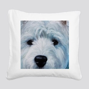 Sweetness Square Canvas Pillow