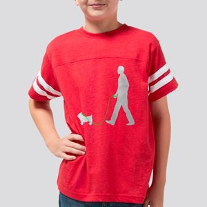 Yorkshire-Terrier35 Youth Football Shirt