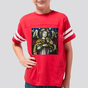 Angel with violin for tiles Youth Football Shirt