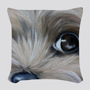 Peeper Woven Throw Pillow