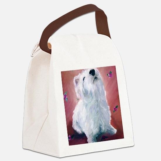 Little Angel Mandy Canvas Lunch Bag