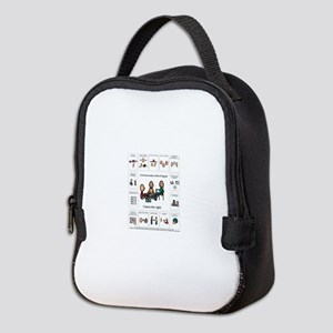 AAC Bill of rights Neoprene Lunch Bag
