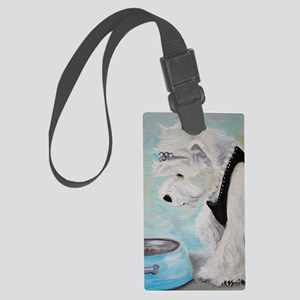 Breakfast At Tiffany's Large Luggage Tag