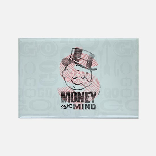 Monopoly Money On My Mind Magnets