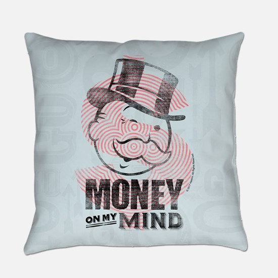 Monopoly Money On My Mind Everyday Pillow