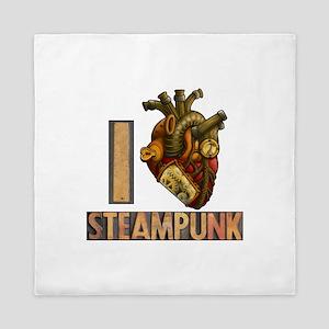 Steampunk Heart Queen Duvet