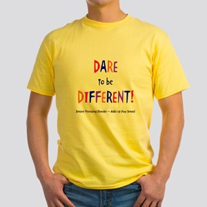 Dare To Be Different (Multi) Yellow T-Shirt
