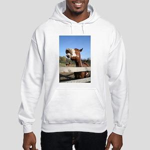 Laughing Horse Hooded Sweatshirt