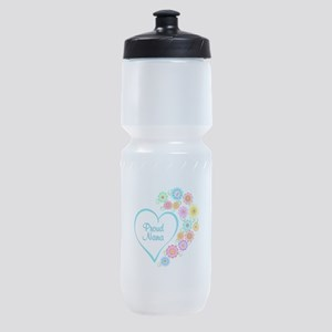 Proud Nana Heart Sports Bottle