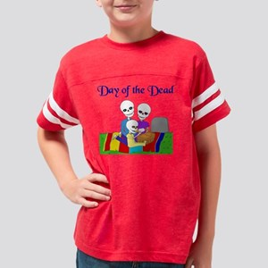 Day of the Dead Youth Football Shirt