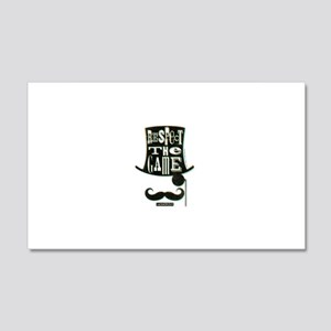 Monopoly Respect The Game Wall Decal