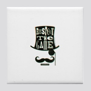 Monopoly Respect The Game Tile Coaster