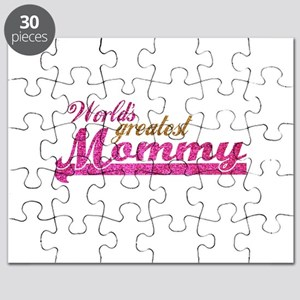 Worlds Greatest Mommy Puzzle