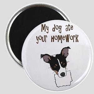 dog ate your homework Magnet