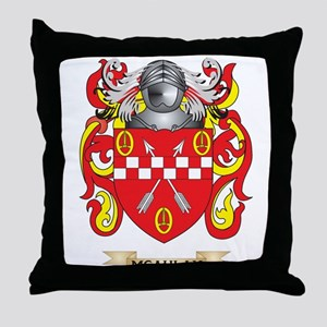 McAulay Coat of Arms - Family Crest Throw Pillow