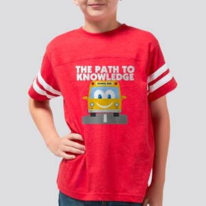 Path to Knowledge Youth Football Shirt