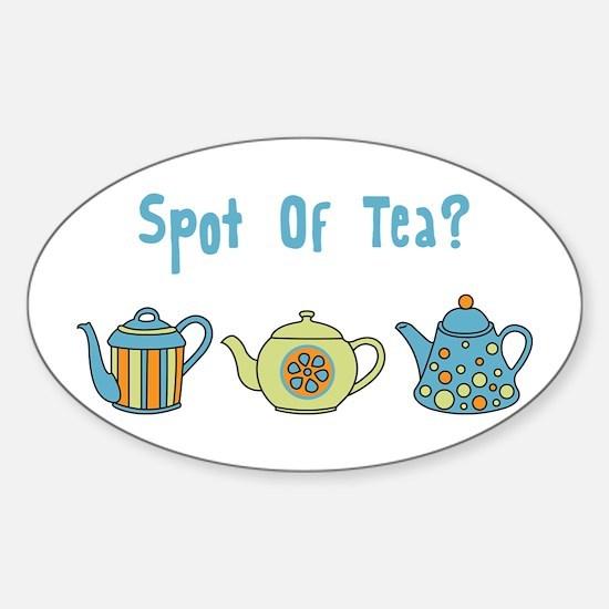 Spot Of Tea Decal