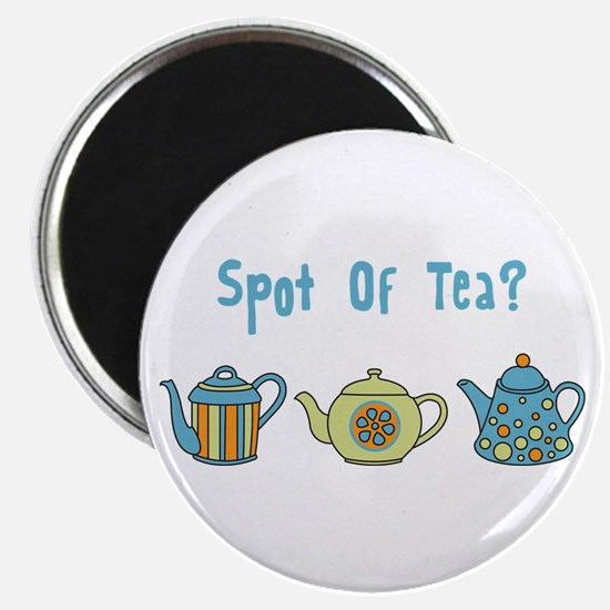Spot Of Tea Magnet