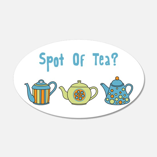 Spot Of Tea Wall Decal