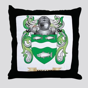 McCabe Coat of Arms - Family Crest Throw Pillow