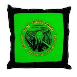 Soylent Green is trans-fats Throw Pillow