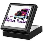 One Bad Mother Trucker Keepsake Box