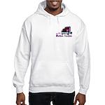 One Bad Mother Trucker Hooded Sweatshirt