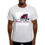 One Bad Mother Trucker Ash Grey T-Shirt
