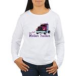 One Bad Mother Trucker Women's Long Sleeve T-Shirt