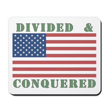 Divided & Conquered Mousepad