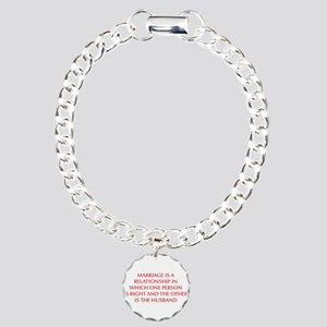 marriage-is-a-relationship-OPT-RED Bracelet