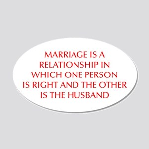 marriage-is-a-relationship-OPT-RED Wall Decal