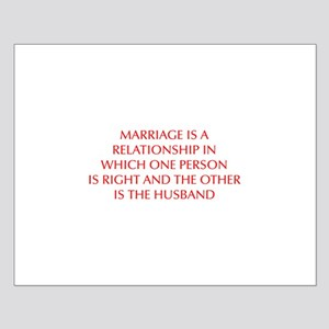marriage-is-a-relationship-OPT-RED Posters