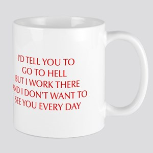 GO-TO-HELL-OPT-RED Mug