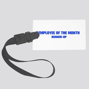 EMPLOYEE-OF-THE-MONTH-AKZ-BLUE Luggage Tag